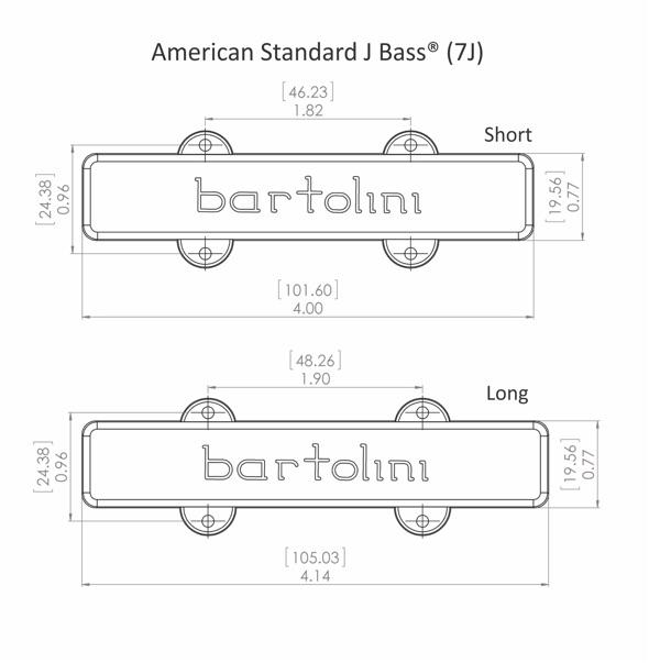 Bartolini Wiring Diagrams Bass Guitar : Bartolini pickups for bass and guitar cbjs j l s