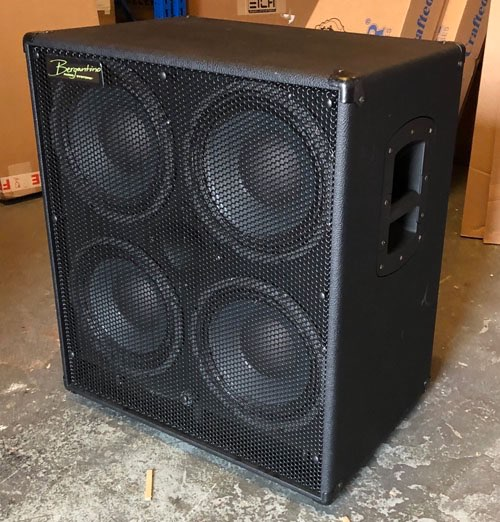 bergantino hd410 cabinet including cover bass direct for sale rh bassdirect co uk Hiwatt Bass Cabinets Pianos for Sale