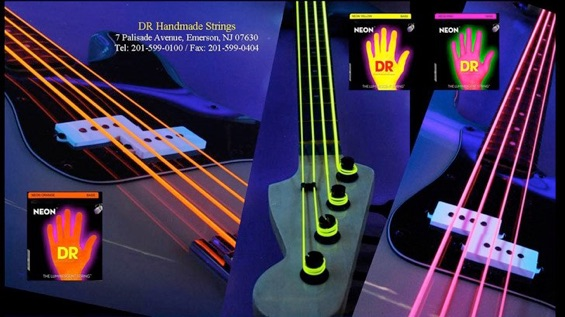 dr bass strings neon dr strings k3 coated black devils 8170