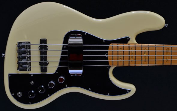 second hand bass guitar stock fender marcus miller jazz v five string bass 3 tone sunburst. Black Bedroom Furniture Sets. Home Design Ideas