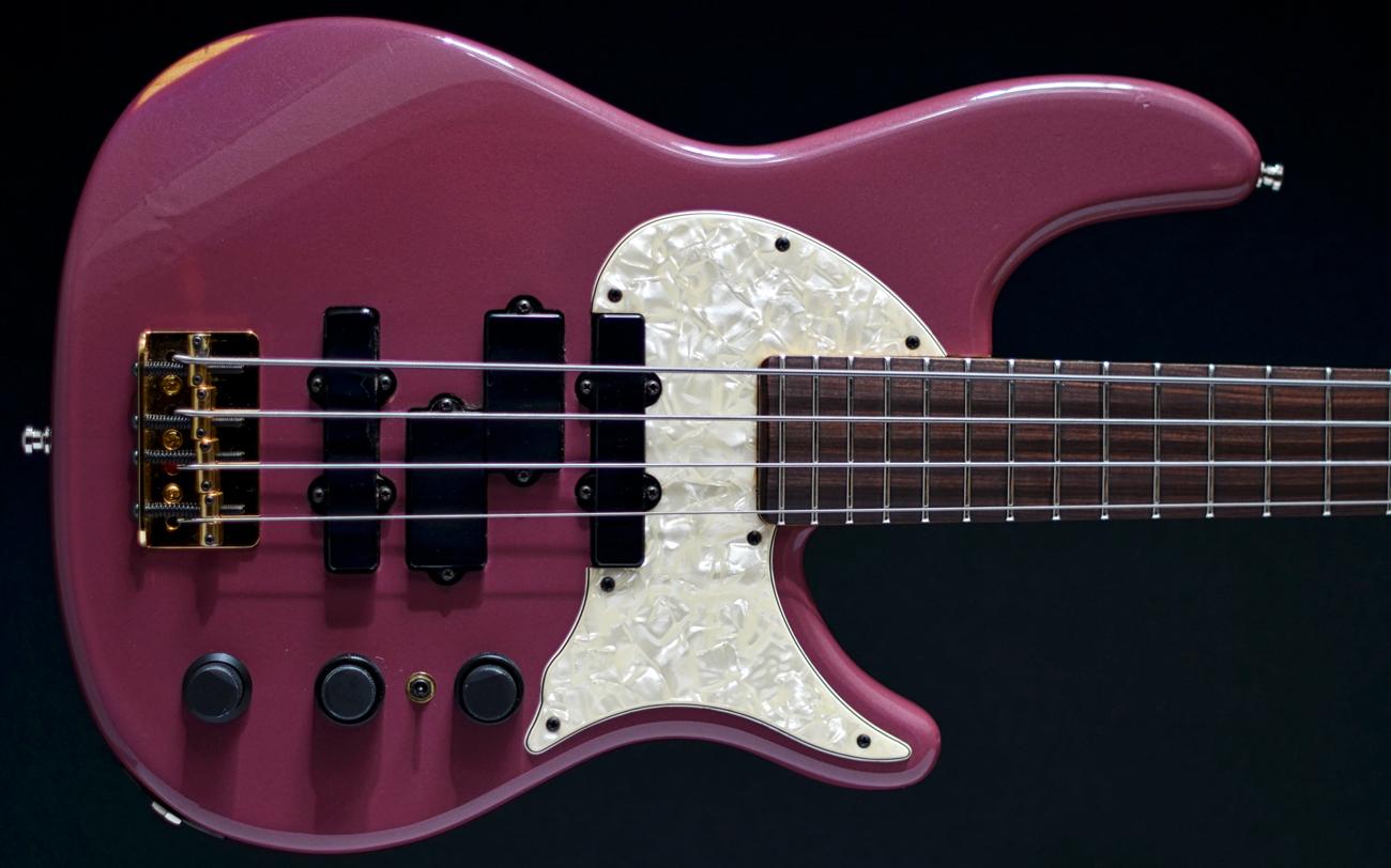 Ender Stu Hamm Urge I 1993 Four String Bass Purple For