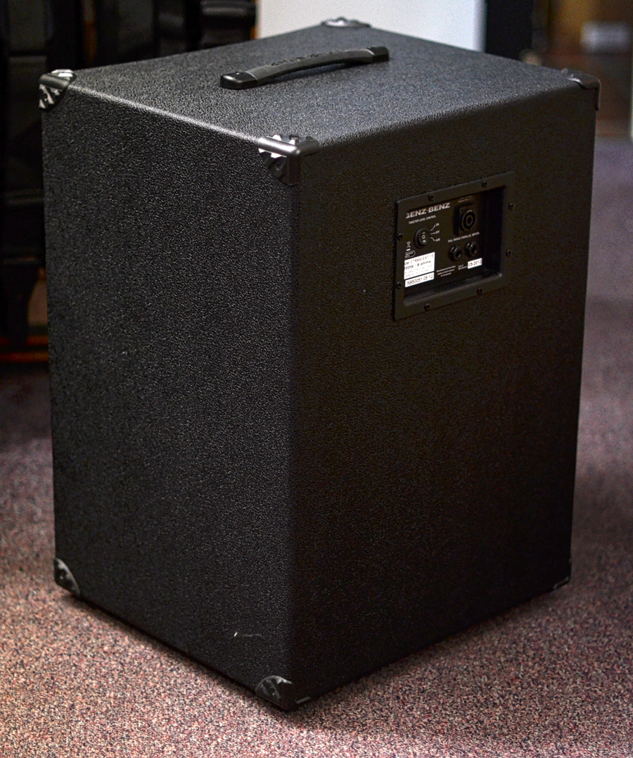 Genz Benz Contour 115 Cabinets Pre Owned 2013 Second Hand And Ex Demo Amplification Stock