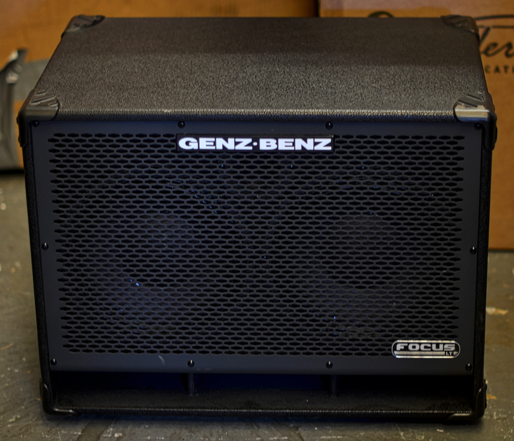 Genz Benz Focus 210lt And 115lt Cabinets Pre Owned 2012 Second Hand And Ex Demo Amplification