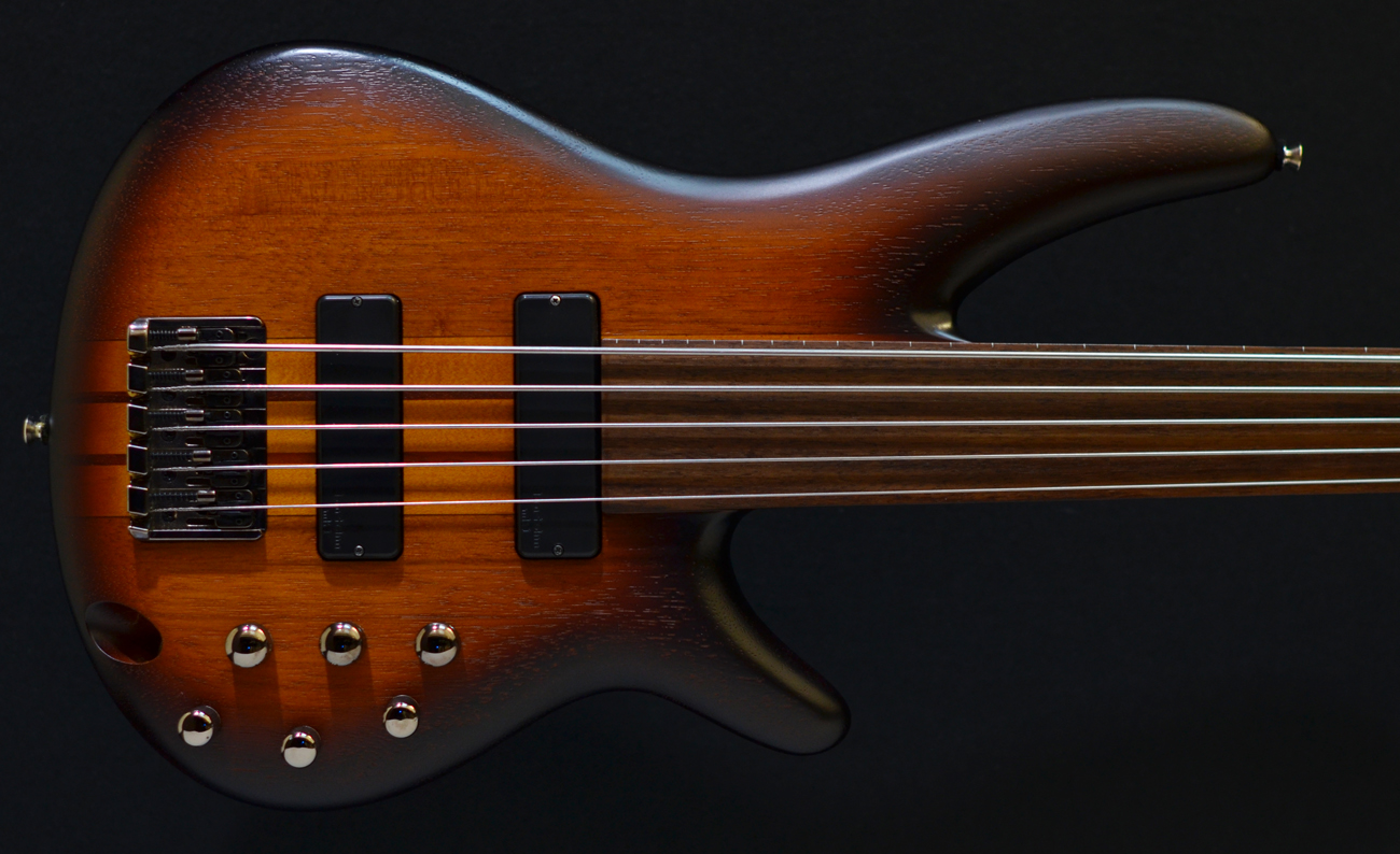 ibanez srf 700 fretless five string bass tobaccoburst second hand pre owned used bass guitar. Black Bedroom Furniture Sets. Home Design Ideas