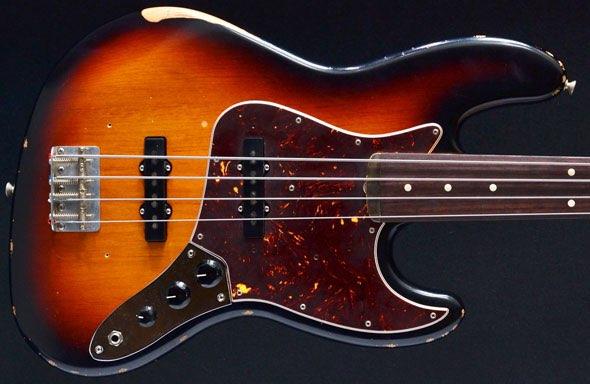 fender made in mexico 60s roadworn fretless jazz bass 4 string 3 tone sunburst for sale uk. Black Bedroom Furniture Sets. Home Design Ideas