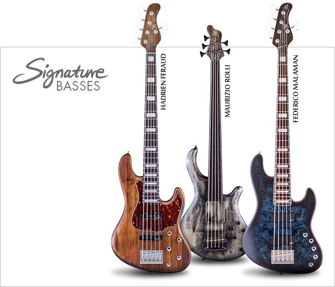 Bass Direct Mayones Custom Hand Made Bass Guitars 4 And