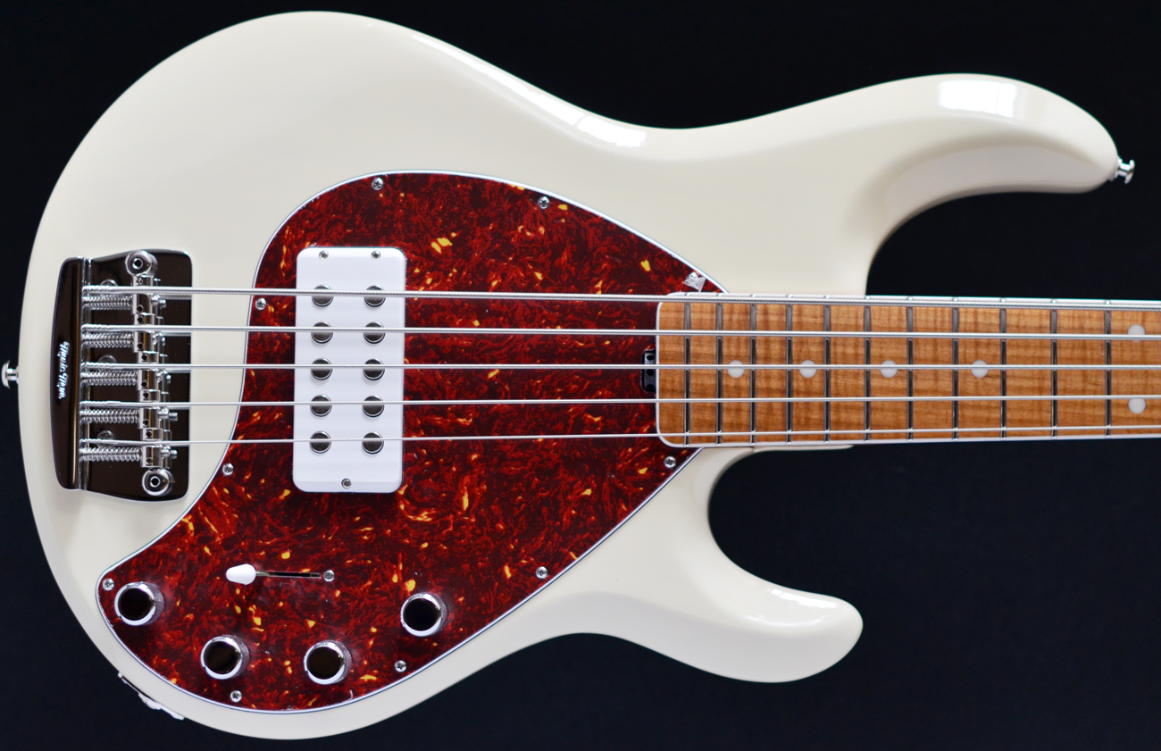 musicman stingray 5 30th anniversary second hand bass guitar stock used preowned maple. Black Bedroom Furniture Sets. Home Design Ideas
