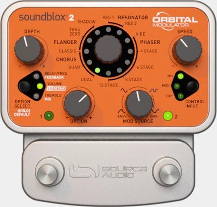 source audio soundblox 2 orbital modulator for bass guitar for sale uk eu effects pedals. Black Bedroom Furniture Sets. Home Design Ideas