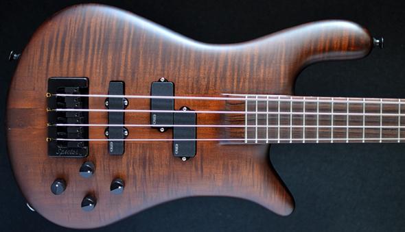 Spector Ns2 Forte Four String Bass  Walnut Stuart Spector