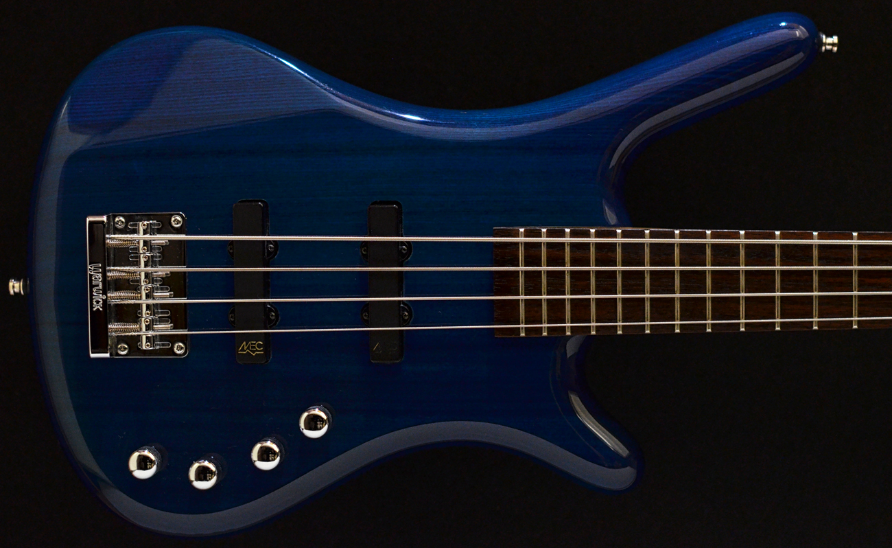 warwick rockbass corvette bo 4 string bass 2014 trans blue gloss second hand used bass. Black Bedroom Furniture Sets. Home Design Ideas