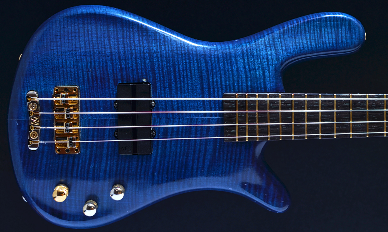 warwick streamer pro m 4 four string bass blue oil finish 1997 bass direct for sale uk. Black Bedroom Furniture Sets. Home Design Ideas
