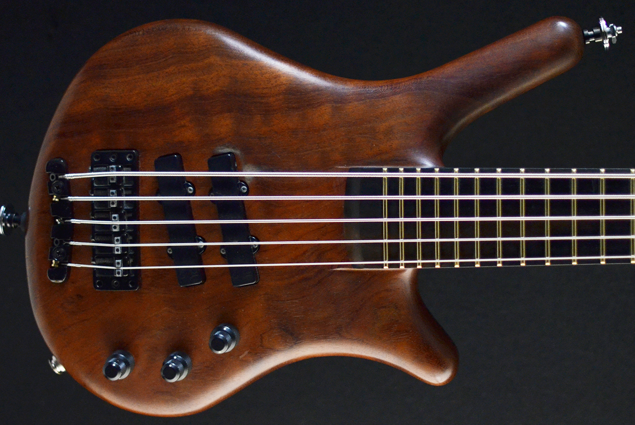 warwick thumb neck through nt 5 five string bass 1999 second hand used bass guitar stock. Black Bedroom Furniture Sets. Home Design Ideas