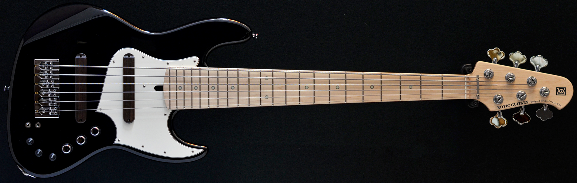 bass direct xotic xj 1t 6 six string bass ash natural fretted bolt on active passive. Black Bedroom Furniture Sets. Home Design Ideas
